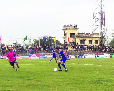 Three Star into Duhabi Gold Cup semis