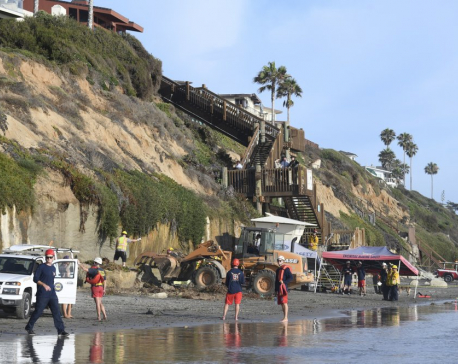 3 family members killed in California sea cliff collapse