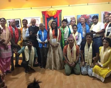 'Together International Art Exhibition' on display