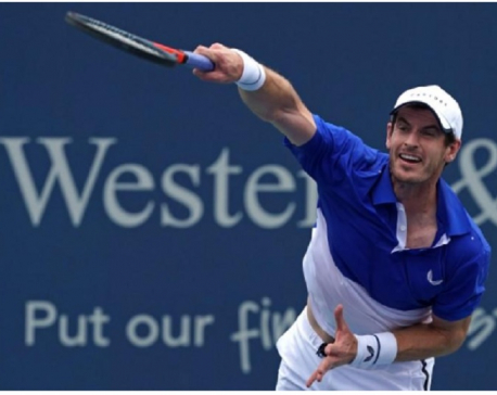Murray won't play U.S. Open singles after loss on return