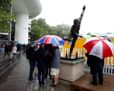 Rain, grey skies set to wash out first day of Lord's test