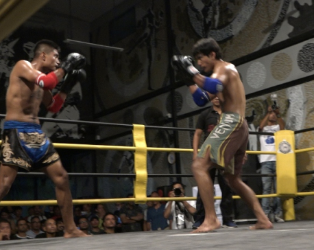 Boxing and Muay Thai matches to promote professional combat sports