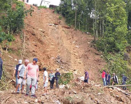 Landslides in Dolakha