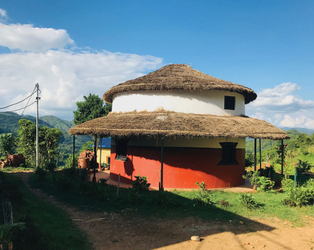 Reviving traditional round houses for attracting tourists