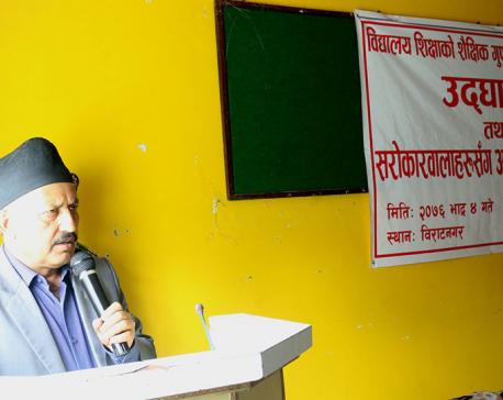 Revolutionary change in education must: Minister Pokhrel