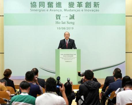 Gambling hub Macau chooses Beijing-backed man as leader