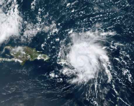 Hurricane heads for Florida after brushing Caribbean islands