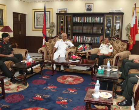 Indian NDC delegation visits Nepal