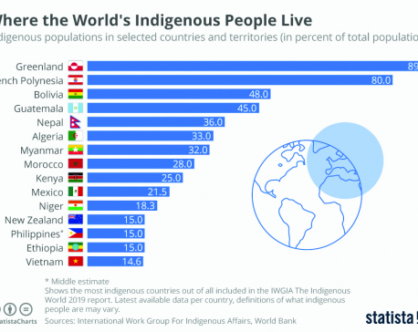 Infographics: Where the world's indigenous people live