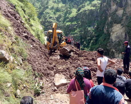 Rural roads make Karnali highway too risky