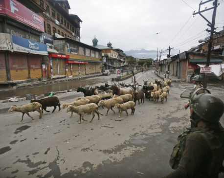 India eases restrictions in Kashmir for Islamic festival