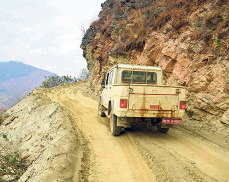 55% of work on 148-km Koshi Corridor road completed