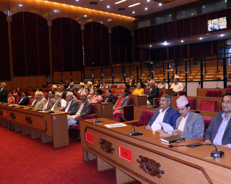 Upper House endorses proposal on Nepal Media Council Bill