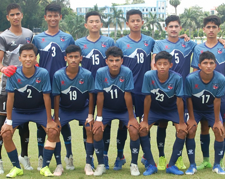 Nepal confirms its place in finals of SAFF U-15 Championship