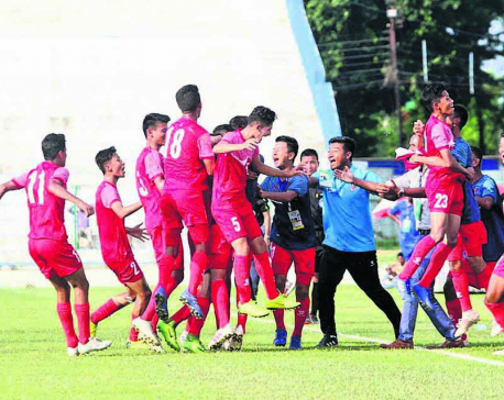 Nepal U-15 strengthens final qualification hopes