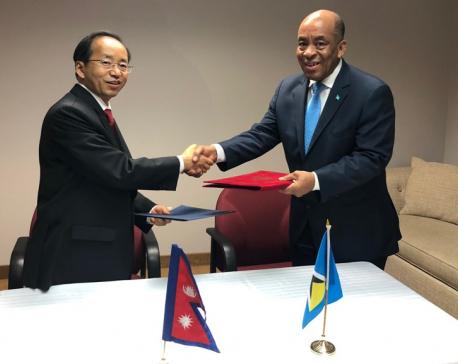 Nepal-Saint Lucia establish diplomatic relations