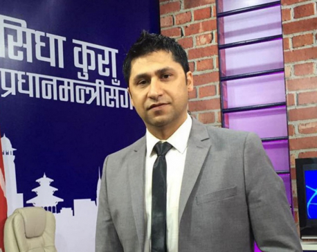 Rabi Lamichhane arrested in connection with 'journalist's suicide'