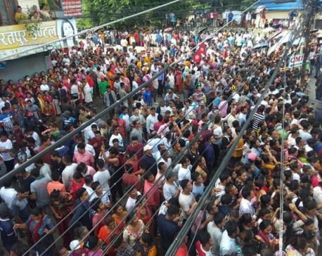 Demonstrators released