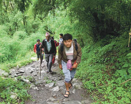 Domestic tourist inflow increases in Rasuwa