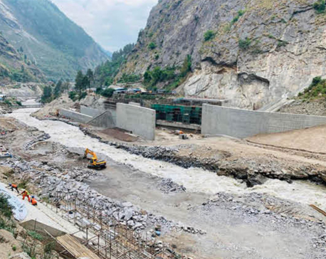 Rasuwagadhi Hydropower Project receives 60 tons of cement after 17 days