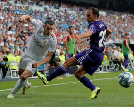 Real Madrid held to frustrating draw with Valladolid after late equaliser