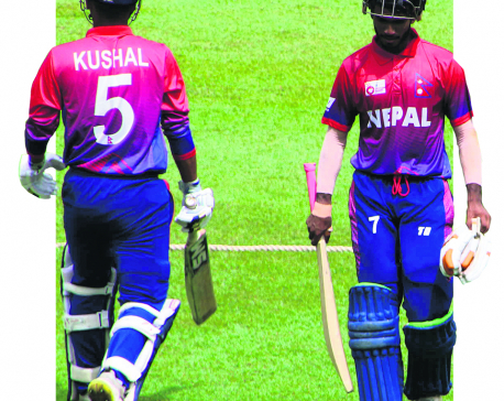 Nepal suffers three-wicket loss in first practice match
