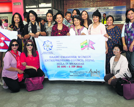 Women craft producers off to Myanmar