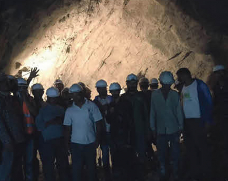 Sanjen power project conducts breakthrough of pilot hole