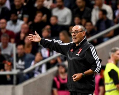 Sarri hoping to make Juventus debut after pneumonia