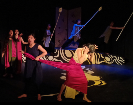 Arko Kurukshetra, a play of our times