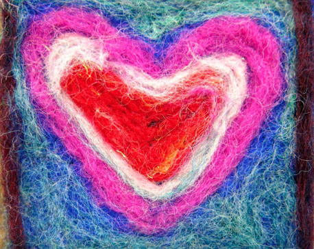 Sewed with threads of love and hopes