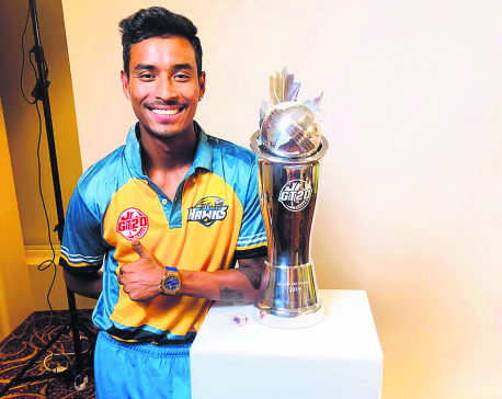Sompal Kami becomes first Nepali player to win overseas league