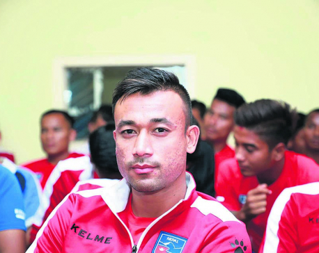 Sujal Shrestha named stand-in football captain