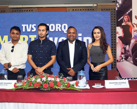 Swastima Khadka and Pradeep Khadka brand ambassadors for TVS NTorq 125