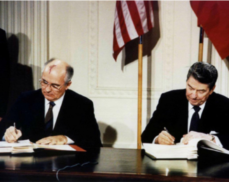 U.S. formally withdraws from 1987 nuclear pact with Russia