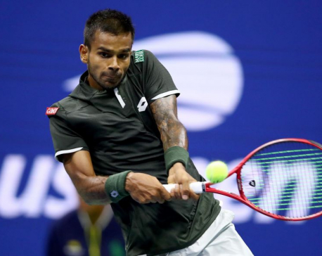 India's Nagal exits U.S. Open with head held high