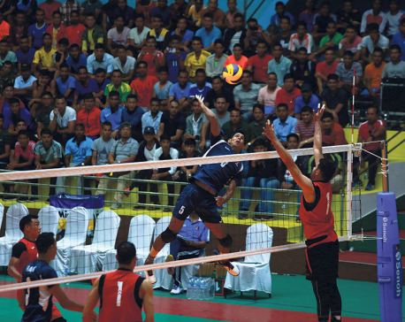 Nepal eyes final spot in Asian volleyball