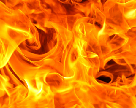 Massive fire breaks out at Balaju Industrial Area