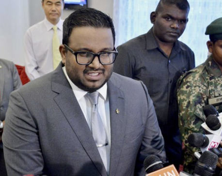 Maldives ex-vice president detained on arrival by boat in India