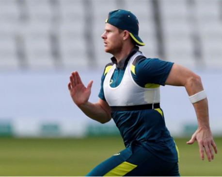 Smith goes from crease to nets ahead of Ashes return