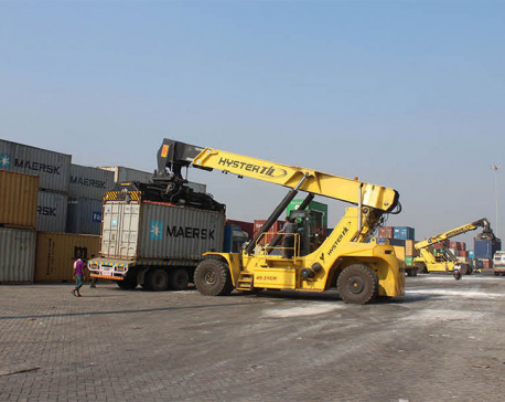 Over hundred rakes imported via Birgunj dry port in a month