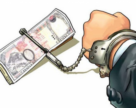 Engineer and ward member held with bribe