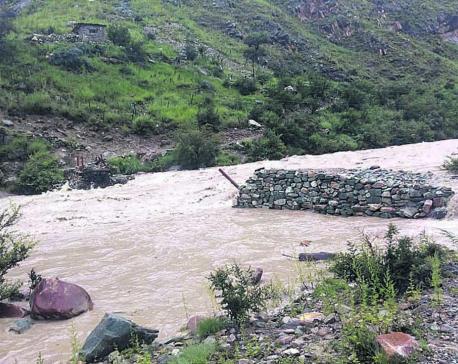 Flood sweeps away bridges leading to Phoksundo Lake