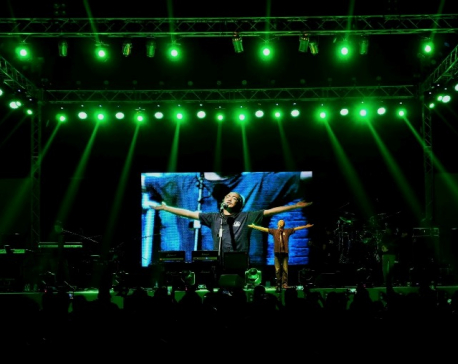 Nepathya's second performance on the stage of Doha