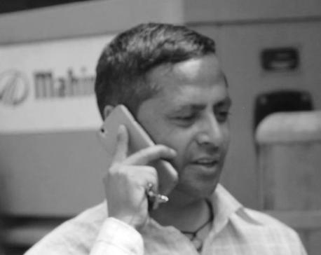 Journo Adhikari dies in jeep accident