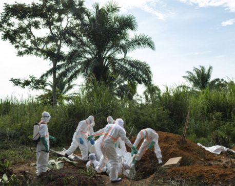 2nd person dies from Ebola in Congo's city of Goma