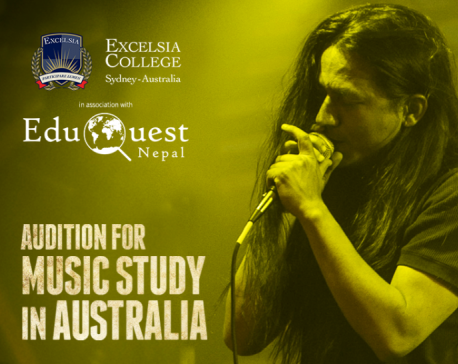 EduQuest Nepal Pvt Ltd to host 'Audition for Music Study in Australia'