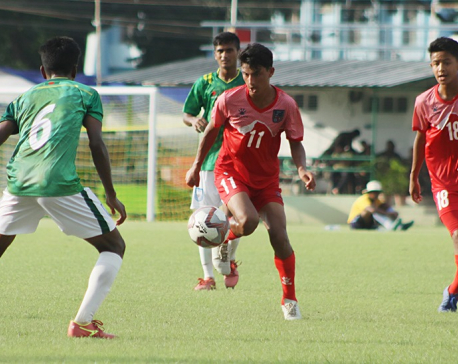 Nepal beats Bhutan 5-0, road to final almost clear