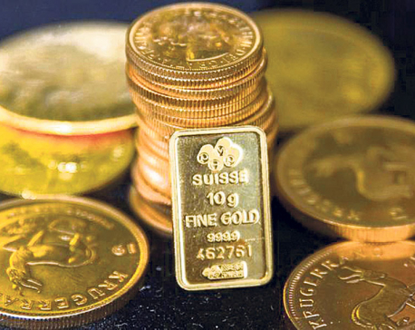 Gold price increased by Rs 1,200 per tola