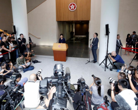 Hong Kong leader sees way out of chaos with dialogue and 'mutual respect'